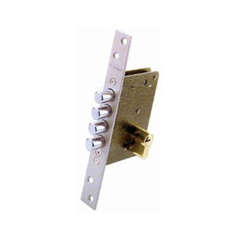 Cerradura Seguridad Inox Ds15 Ezcurra 701b50 /70 D