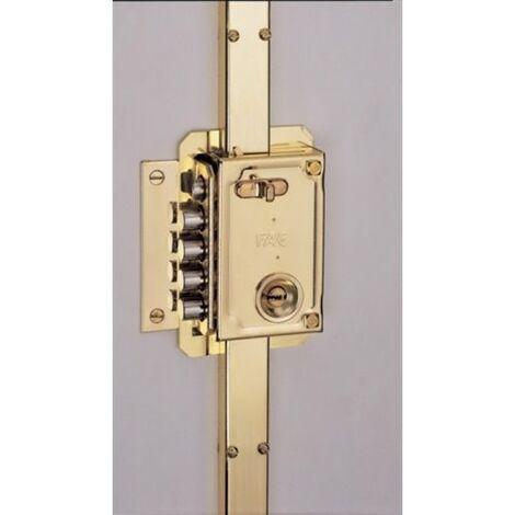 Cerradura Seguridad Sobreponer 11034 Pintado Picaporte/4Pasadores Izquierda Fac