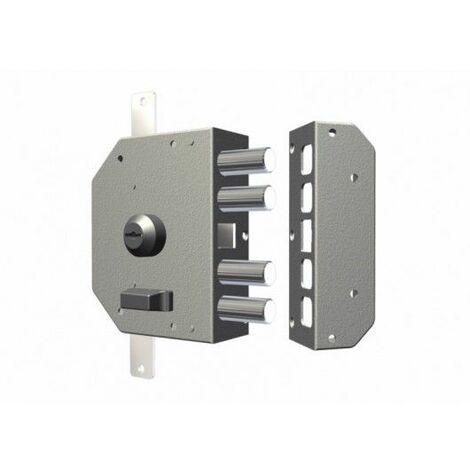 Cerradura Seguridad Sobreponer 130X164X32 3450Dord Dorado Entrada 60 Derecha Cr