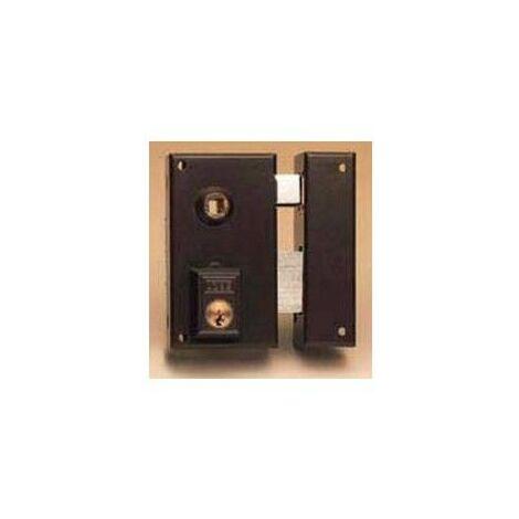 Cerradura Sobreponer 70X40Mm 56B70Dhn Hierro Niquel Picaporte/Palanca Derecha Yale