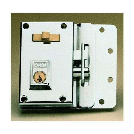 Cerradura Sobreponer 70X45Mm 10Ihn Niquel Picaporte/Palanca Izquierda Yale