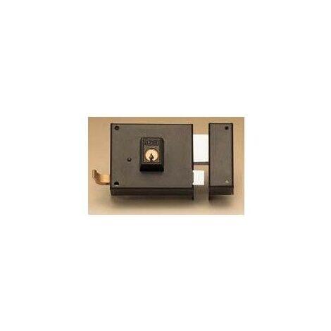 Cerradura Sobreponer 80X48Mm 12580Dhn Hierro Niquelado Picaporte/Palanca Derecha Yale