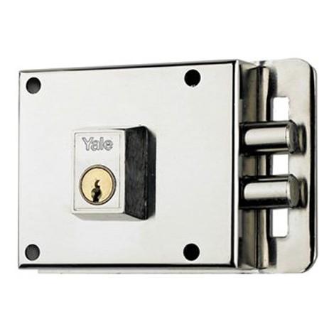 Cerradura Sobreponer Izquierda 100 Mm - AZBE - 6-0 Hn