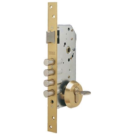 Cerradura Tesa Seguridad R100B566 Esmaltada