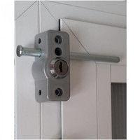 cerrojo para puerta de aluminio