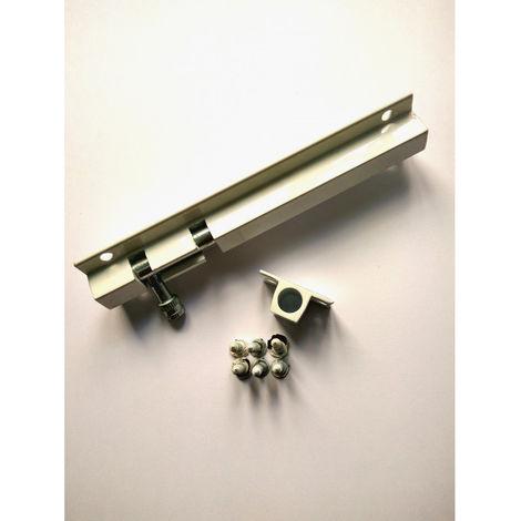 Cerrojillo aluminio 150 mm Blanco