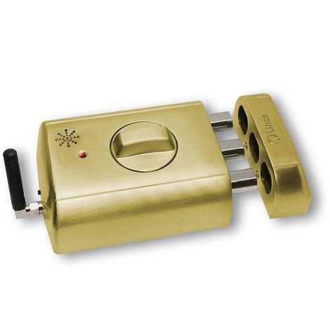CERROJO ELECTRONICO INVISIBLE LINCE 4940TK-HL (color dorado)