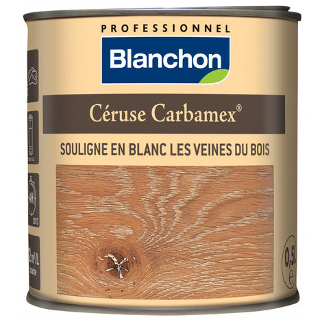 Céruse Carbamex® blanc 0.5L