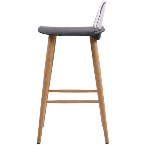 Cesey Bar Stool Black (Pack of 2)