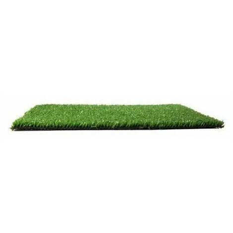 Césped artificial Basic Green altura 6 mm Evoturf 2X15