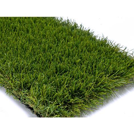 Césped artificial HERMES. Altura total 40 mm. Medidas 2 x 10 m. (20 m2). El ingenio verde.