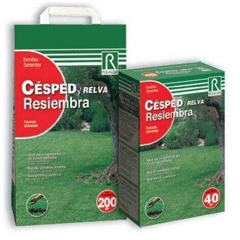 CESPED RESIEMBRA SEMILLAS 1KG - ROCALBA 40 M