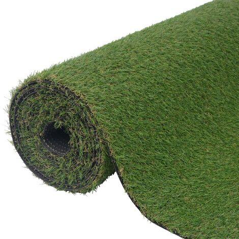 Césped verde artificial 1x8 m/20-25 mm