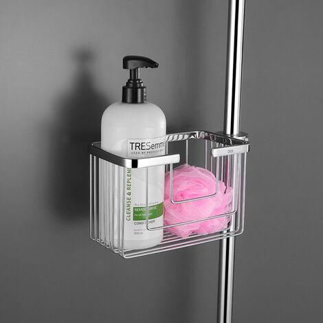 Cesta de ducha lateral sin taladros modelo Campos