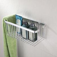 Cesta ducha rectangular aluminio Siroco