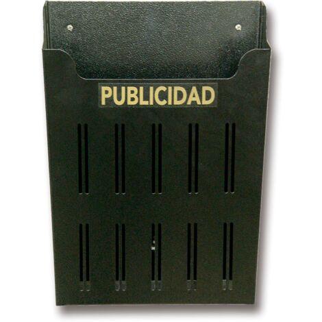 Cesta Publicidad Lineas Pq. Negro