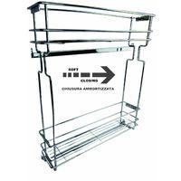 Cestello Estraibile Portabottiglie Per Modulo 10-20 Cm