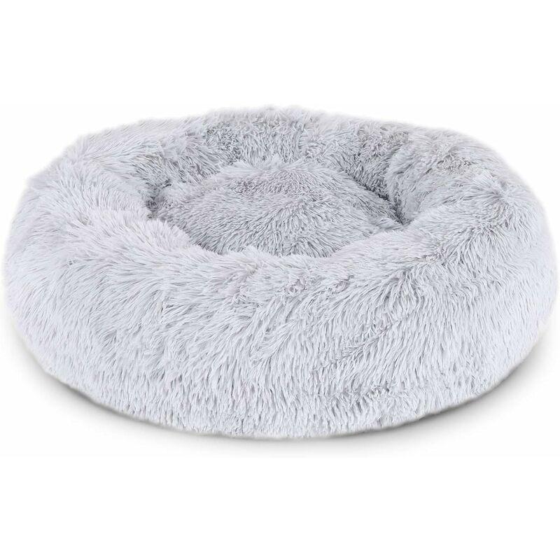 Image of Cestino per cane rotondo cestino cat cestino con ciambelle ø40cm grigio chiaro Dimensioni