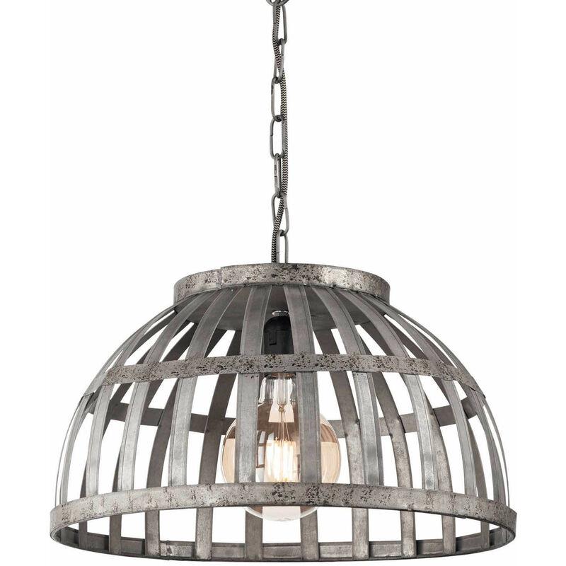 01-ideal Lux - CESTO Eisen Pendelleuchte 1 Glühbirne