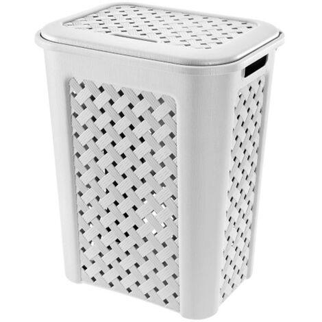 Cesto para ropa Arianna 30 litros modelo Blanco