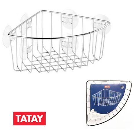 Cesto rincón ventosa 190X190X190 Tatay