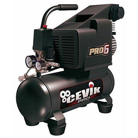 Cevik CA-PRO6 Compresseur monobloc portable 230 V 750 W 6 l8 bar 126 l/min