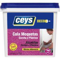 CEYS COLA CORCHO,MOQUETA,PLASTICO 1 KG.