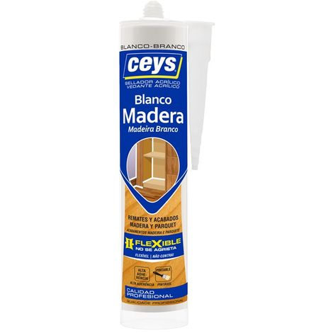 CEYS SELLADOR MADERA BLANCO 280ML