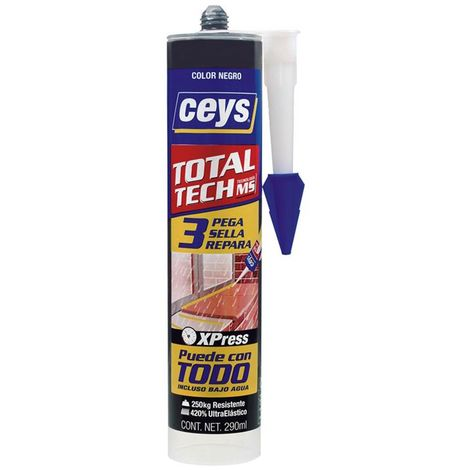 CEYS TOTAL TECH CARTUCHO 290 ML.AZUL