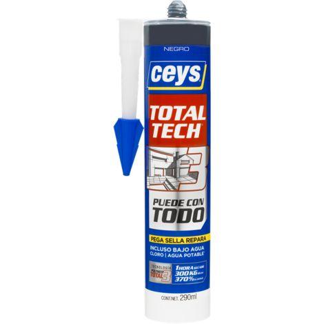 CEYS TOTAL TECH NEGRO CARTUCHO 290ML
