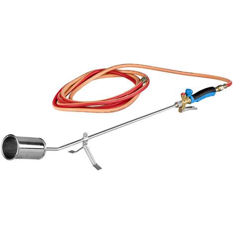 CFH PA079 Désherbeur professionnel avec tuyau de gaz 5 m