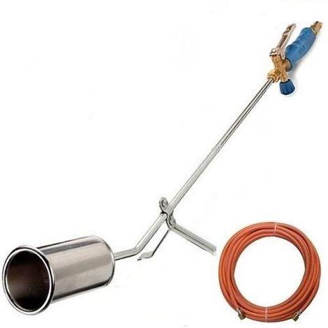 CFH ST1000 Chalumeau de couvreur avec tuyau de gaz de 5 mètres