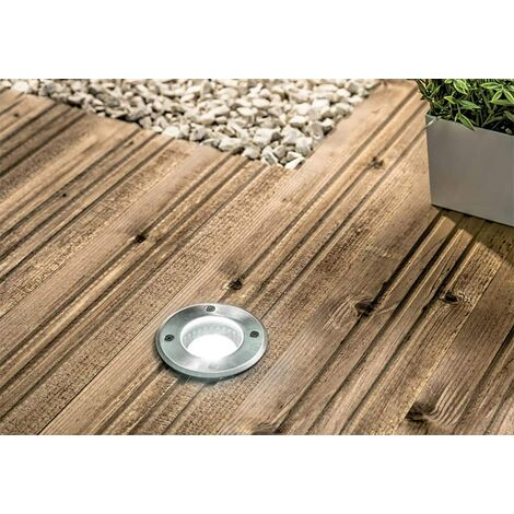 CGC In Ground Walkover Driveover GU10 Stainless Steel Round Decking Garden Lights