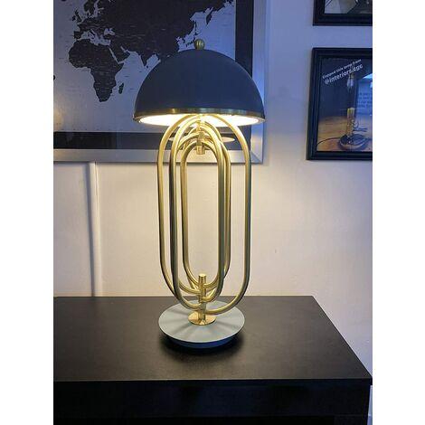 CGC Luxury Large Grey Table Lamp