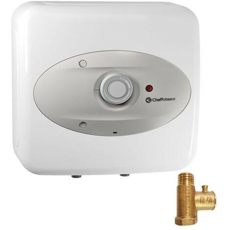 Chaffoteaux CHX EU 30 litros Calentador eléctrico de agua sobre el fregadero 3100385