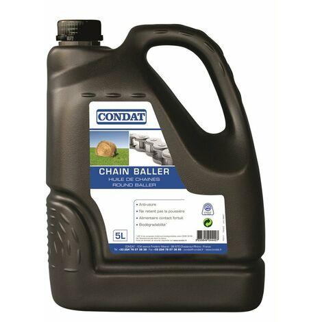 chain baller - huile de chaine pour presse - bidon 5l