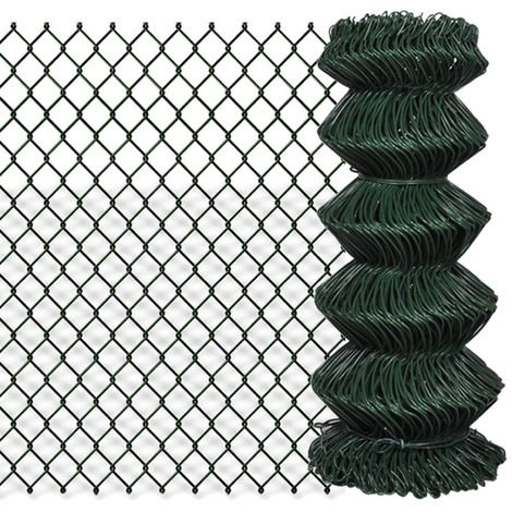 Chain Fence 0.8 x 25 m Green