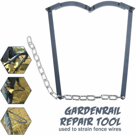 Chain Fence Strainer Repair Tool Single Barbed Wire Strainer Repair Tool