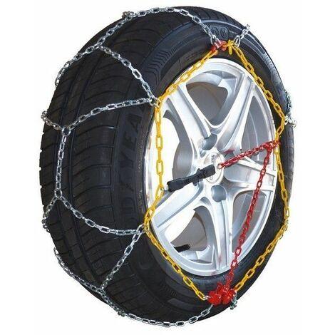 Chaine à neige pneu 215/45R16 montage rapide acier 9mm