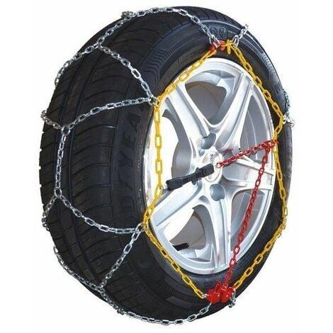 Chaine à neige pneu 215/55R18 montage rapide acier 9mm