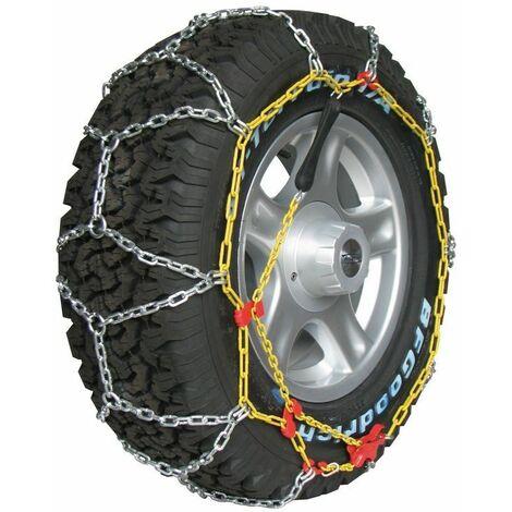 Chaine neige 4x4 utilitaires 16mm pneu 225/55R18 robuste et fiable