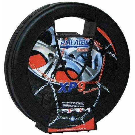 Chaine neige 9mm pneu 195/55R20 montage rapide sécurité garantie