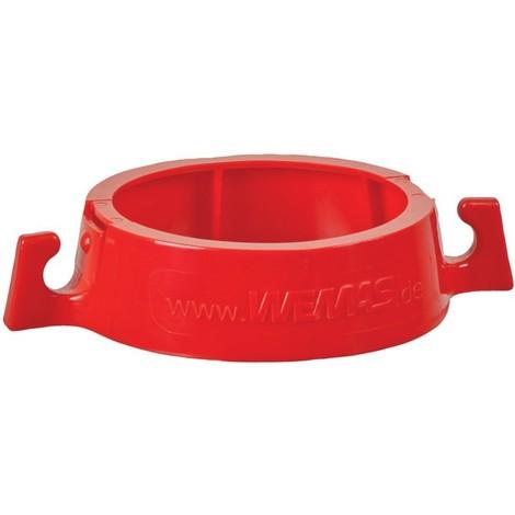 Chaine Support Rouge pour, clipser sur cone de signalisation