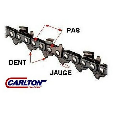 Chaine tronçonneuse 3/8 050 (1.3mm) 63 dents