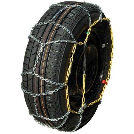 Chaine /à neige Eco 9mm pneu 195//60R16 montage rapide Boite comprenant 2 chaines neige