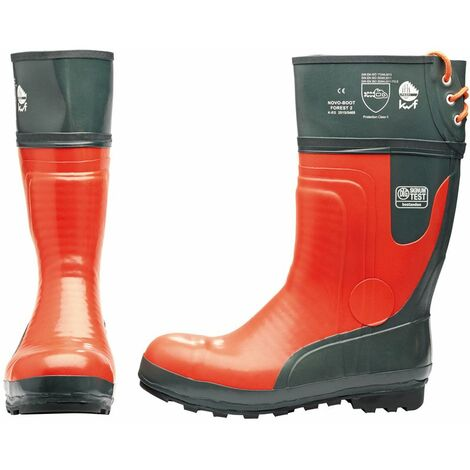 Chainsaw Boots (Size 10/44) (12066)