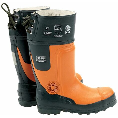 Chainsaw Boots (Size 9/43) (12063)