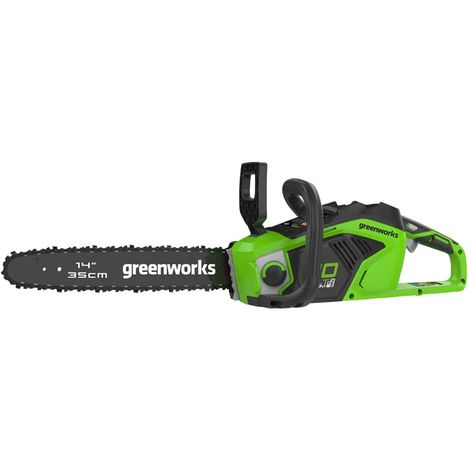 Chainsaw Brushless GREENWORKS 40V - 35 cm - Without battery and charger - GD40CS15