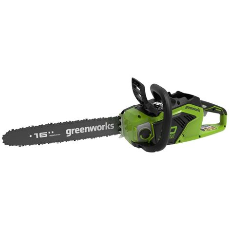 Chainsaw Brushless GREENWORKS 40V - 40 cm - Without battery and charger - GD40CS18