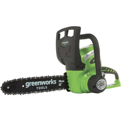 Chainsaw GREENWORKS 40V - 30 cm - Without battery and charger - G40CS30